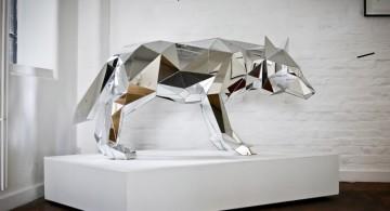 Arran Gregory * Mirrored Geometric Animals