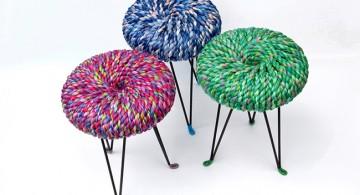 Thread stools * Els Woldhek