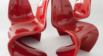 Panton * The world's first moulded plastic chair  Panton * The world's first moulded plastic chair 4 panton rot1 360x195