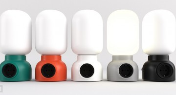 Plug lamp *  by FORM US WITH LOVE Imag4Plug lamp by FORM US WITH LOVE 360x195