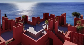 The Red Wall Architecture * Ricardo Bofill  The Red Wall Architecture * Ricardo Bofill muralla roja architecture 360x195