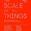 Exhibition in Milan * The Scale of Things INVITATION 120x120