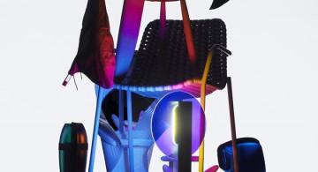 SPAZIO ROSSANA ORLANDI * Milan Design 2014  SPAZIO ROSSANA ORLANDI * Milan Design 2014 spazio rosanna orlandi milan Black humor moustache 360x195
