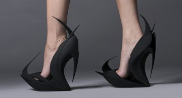 3D Printed Shoes * by Zaha Hadid and more famous designers  3D Printed Shoes * by Zaha Hadid and more famous designers 3d printed FEATURED 360x195
