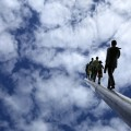 Walking to the sky * Jonathan Borofsky featur 120x120