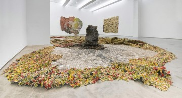 Five Decades of El Anatsui * The School Gallery Exhibition  Five Decades of El Anatsui * The School Gallery Exhibition el anatsui featured 360x195