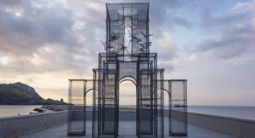 mesh sculpture Intricate Wire Mesh Sculpture * Incipit Intricate Wire Mesh Sculpture Incipit 00 360x195