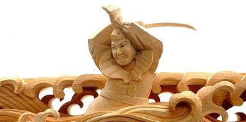 Sculptural Wooden Japanese Heroes * Yusuke Yamamoto Yusuke Yamamoto Sculptural Wooden Japanese Heroes * Yusuke Yamamoto sculptural woodenjapanese heroes 2 360x179