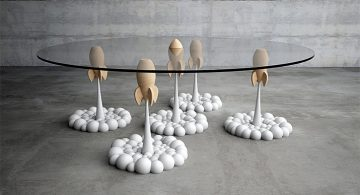 rocket coffee table Rocket Coffee Table * Stelios Mousarris Rocket Coffee Table Stelios Mousarris01 360x195