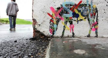 martin whatson Stencil Art with Graffiti * Martin Whatson 11 4 360x195