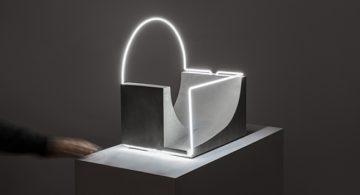 Sculptural Lighting Plays with Perception * Morgane Tschiember