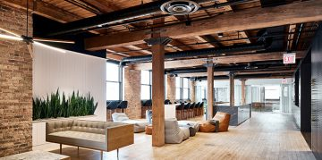 Industrial Design Chicago Office by Those Architects industrial design Industrial Design Chicago Office by Those Architects ansarada those architects chicago offices renovation baseball dezeen 2364 hero 1 360x179