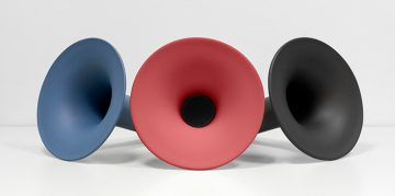 New Ceramic Bluetooth Speaker by Paolo Cappello bluetooth speaker New Ceramic Bluetooth Speaker by Paolo Cappello big 360x179