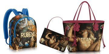 New Collection of Bags and Accessories for Louis Vuitton of Jeff Koons