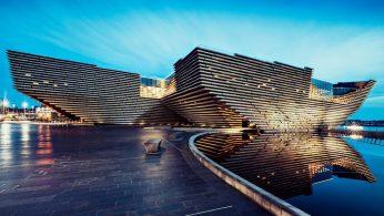 Kengo Kuma's V&A Dundee Design Museum design museum Kengo Kuma's V&A Dundee Design Museum Kengo Kuma   s VA Dundee Design Museum 1 346x195