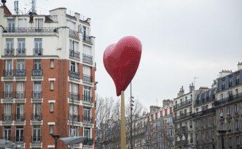 Coeur porte de Clignacourt covet paris Red Heart Illuminates the door of Cligancourt nearby Covet Paris red heart illuminates door cligancourt nearby covet paris 3 350x215
