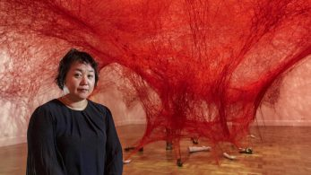 Chiharu Shiota weaves an amazing Japanese installation [object object] Chiharu Shiota weaves an amazing Japanese installation chiharu shiota weaves amazing japanese installation 7 347x195