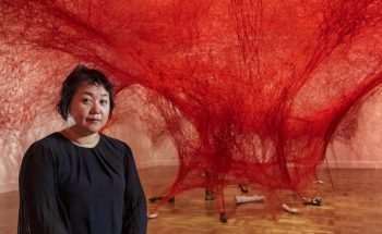 Chiharu Shiota weaves an amazing Japanese installation [object object] Chiharu Shiota weaves an amazing Japanese installation chiharu shiota weaves amazing japanese installation 7 350x215