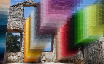 Contemporary Art Project Meshes Spray Paint and Greek Ruins [object object] Contemporary Art Project Meshes Spray Paint and Greek Ruins contemporary art project meshes spray paint greek ruins 1 350x215