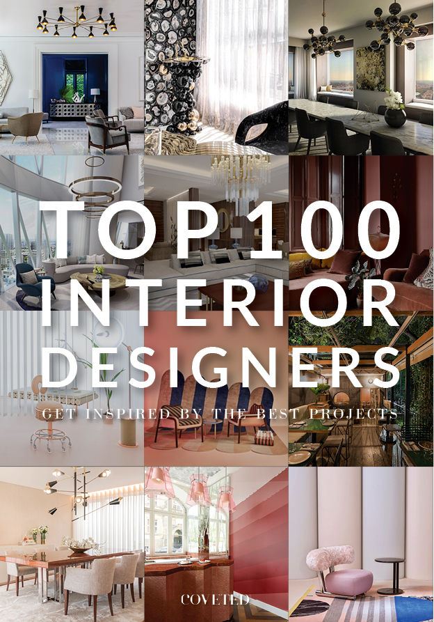 Top 100 Interior Designers  interior designers The Most Inspiring 100 Interior Designers and Architects Ebook capa