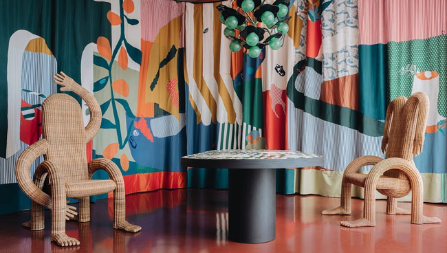 india mahdavi India Mahdavi | A design wonderland Project room india mahdavi Bellechasse 3656