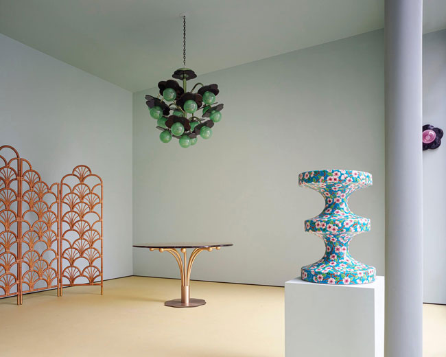 india mahdavi India Mahdavi | A design wonderland india mahdavi paris bellechasse showroom 2020 france exhibition scenography design interior 4 2000x1600 1