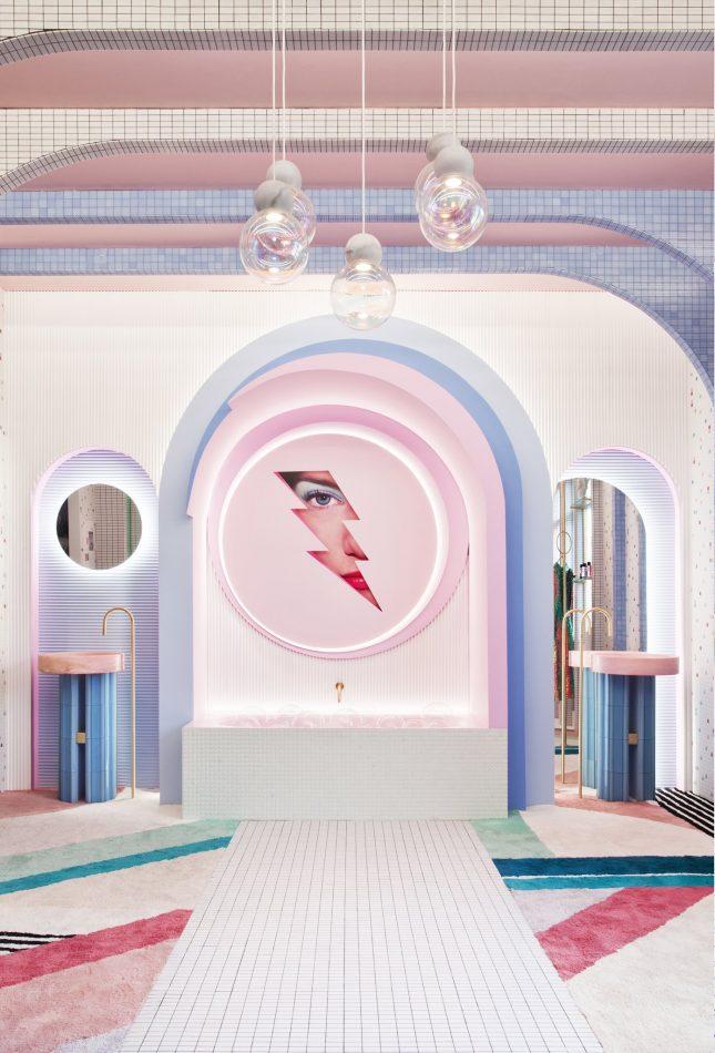 interior design, patricia bustos, pink, fantasy patricia bustos The dreamy world of Patricia Bustos WONDERGALAXY 2 scaled