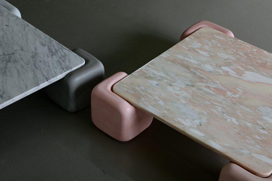 studio mignone Studio Mignone and the perfect Coffee Table Studio Mignone soft table 3 scaled