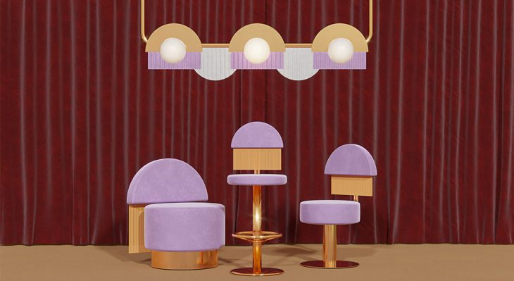 MASQUESPACIO – The Hollywood Sweetheart zsa zsa dining chair 1 730x399