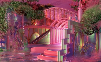 The neon shades and dreamscapes of Blake Kathryn